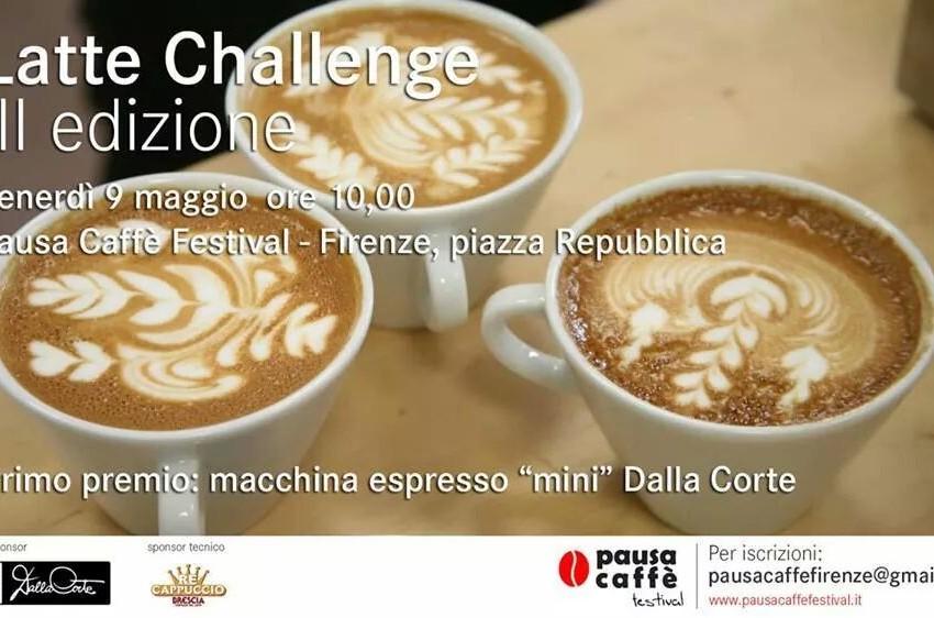 LATTE CHALLENGE, UNA GARA DI LATTE ART A PAUSA CAFFE' FESTIVAL