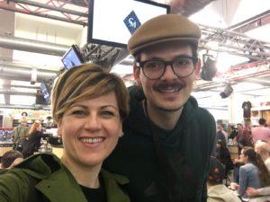 Ilaria Nocentini con Matteo Colaci