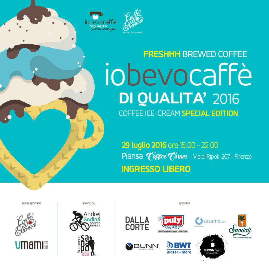 Io bevo caffè di qualità Firenze 2016 Caffè Piansa Umami Area-FB