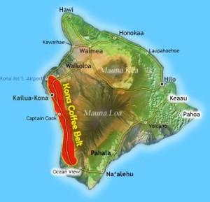 Il Caffè dell'isola di Kona