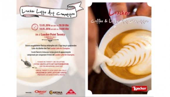Latte art competition Loacker