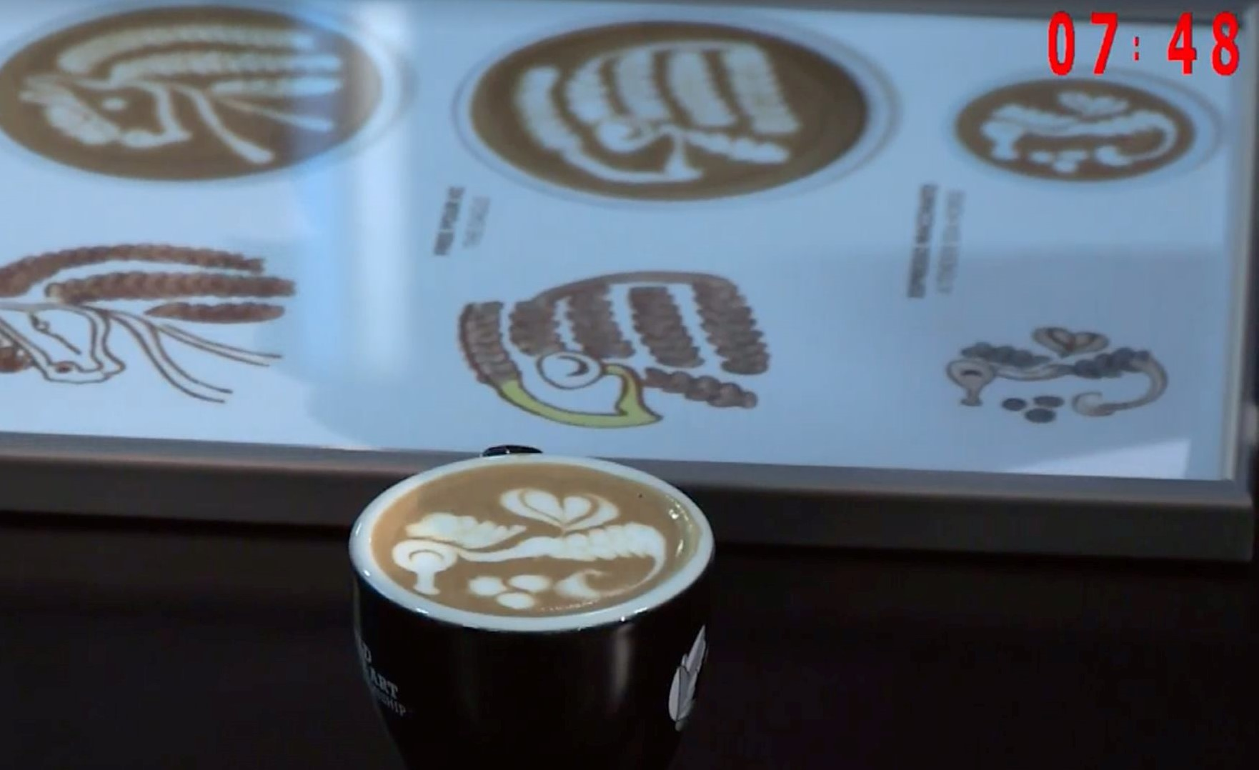 Manuela Fensore - Campionessa Mondiale Latte Art 2019 - foto SCA ITALY