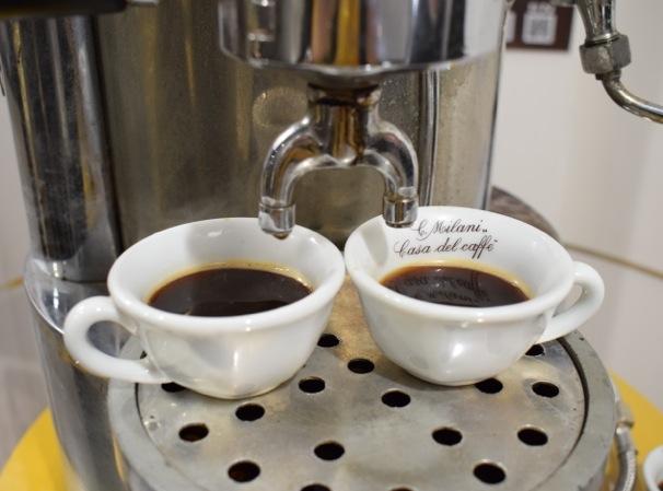 Il caffè espress di inizio '900