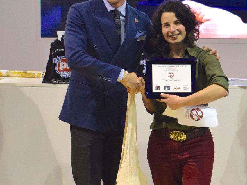 LA CAMPIONESSA ITALIANA CUP TASTING 2018 E'….HELENA OLIVIERO!