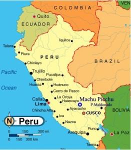 Peruvian-Coffee-Map