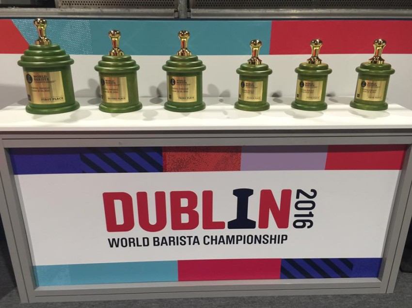 DUBLINO 2O16, LE PROVE DEI NOSTRI CAMPIONI AL WORLD OF COFFEE