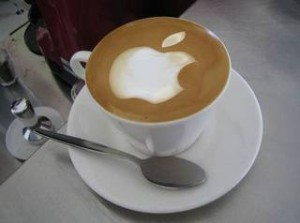 apple-logo-foam