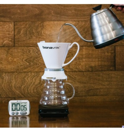 V60 o FRENCH PRESS? VI PRESENTIAMO IL BONAVITA CERAMIC DRIPPER…