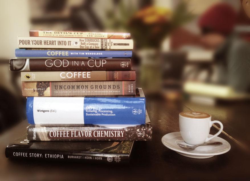 Libri al caffè....