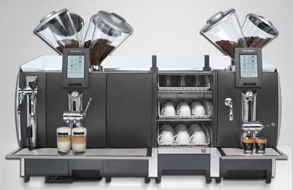 La macchina da espresso superautomatica Celebration