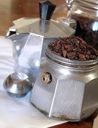 Caffè di cicoria con la Moka