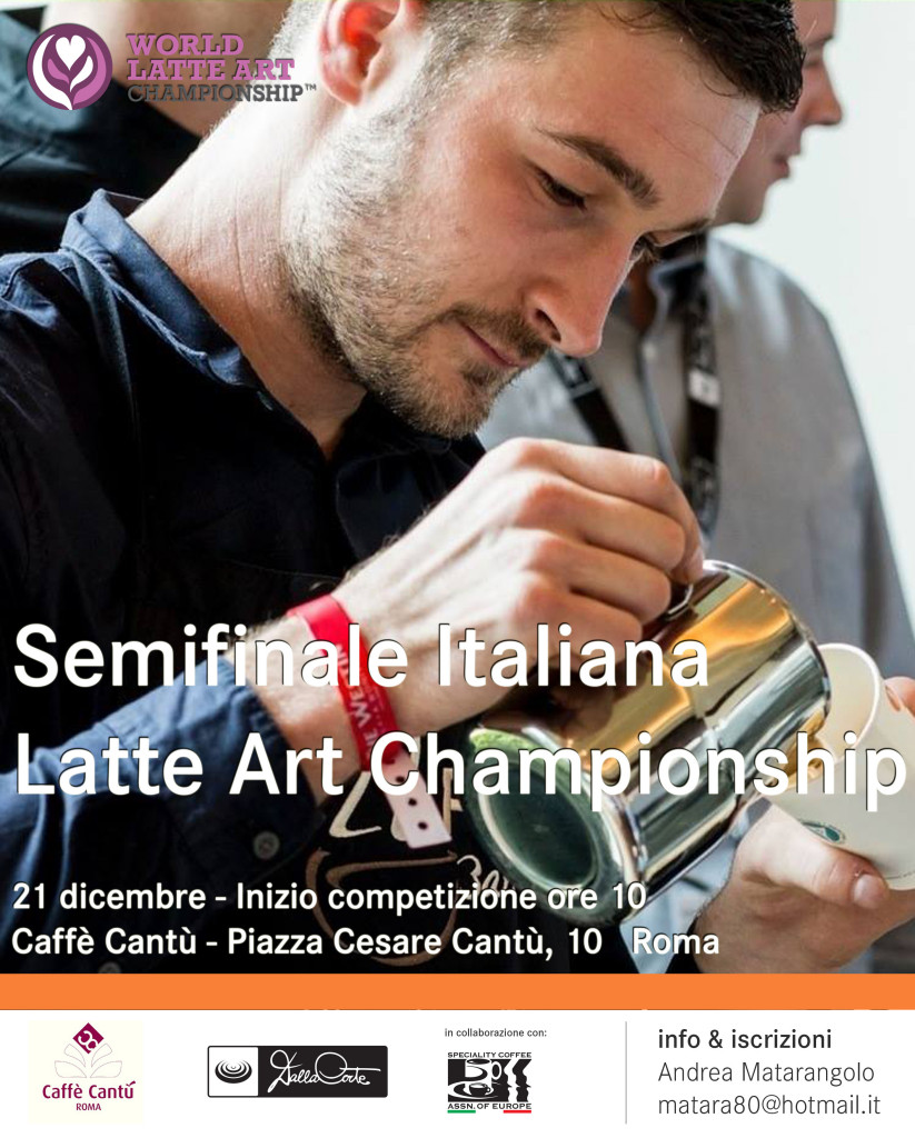 <strong>Campionato Italiano Latte Art</strong>