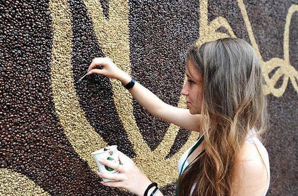 Coffee mosaico