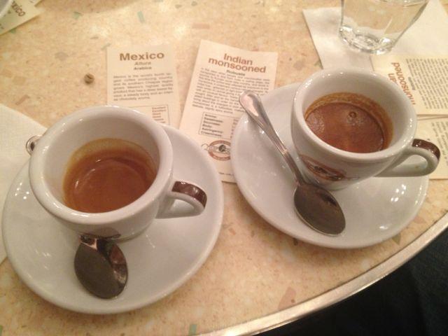 """LA MISCELA DA CAFFÈ ESPRESSO E IL """"GIROTAZZA"""""""