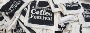 Amsterdam coffee festival. borse