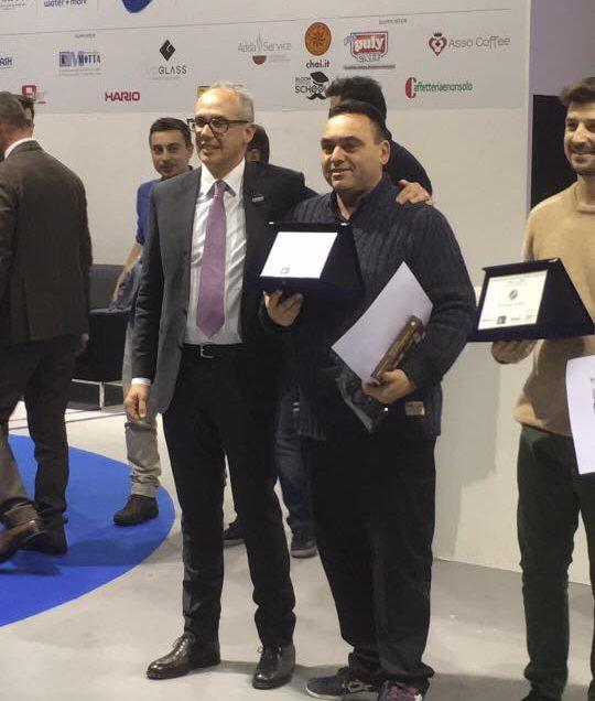 IL CAMPIONE ITALIANO TOSTATURA 2018 E' ….EMANUELE TOMASSI!