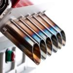 I cilindri della Espresso Veloce