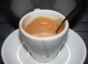 Il classico caffè italiano con la cremina