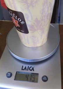 il cappuccino montato all'italiana, oltre 400gr