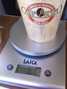 Il cappuccino all'americana: circa 300gr
