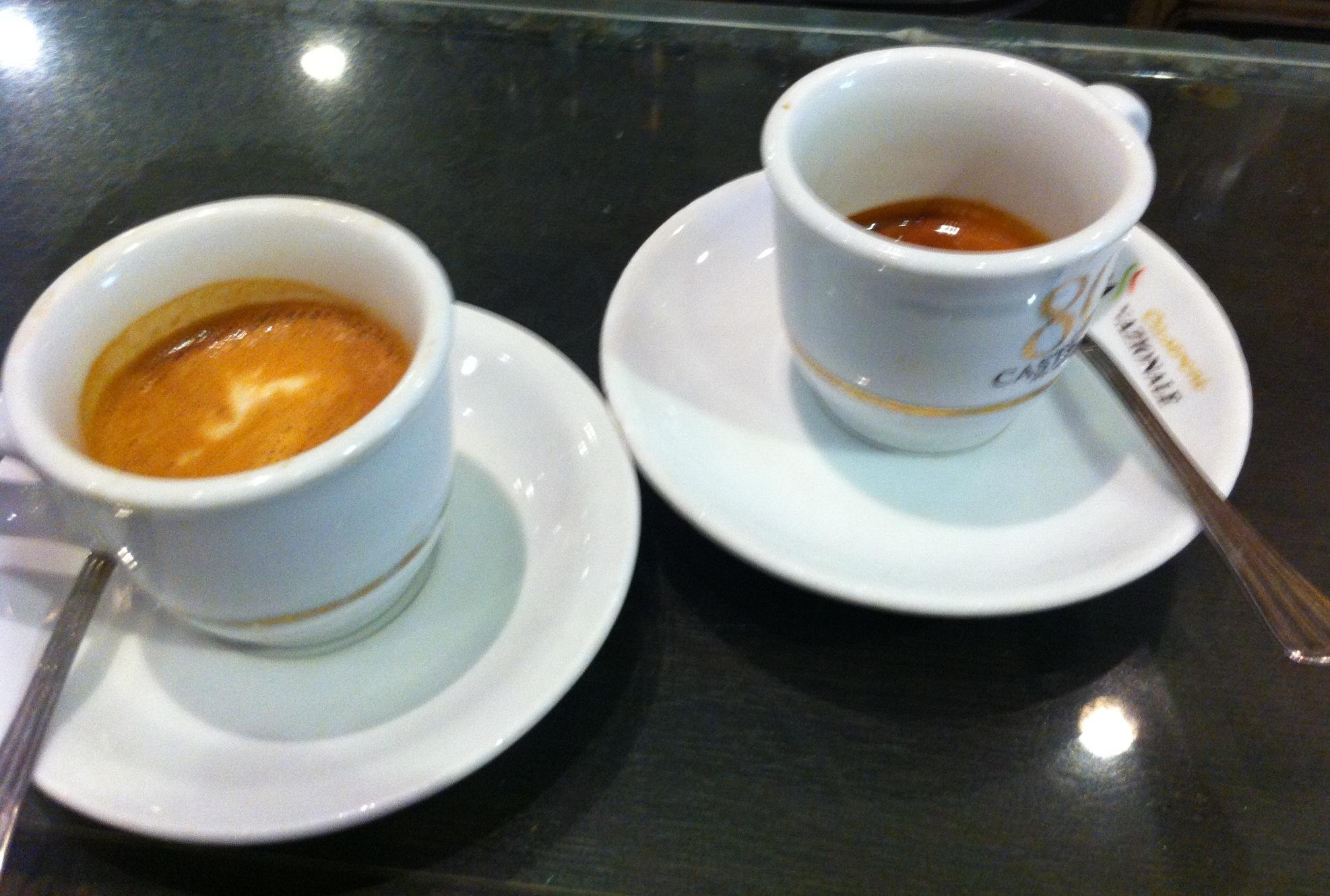 RECENSIONE DEL CAFFÈ CASTRONI A ROMA