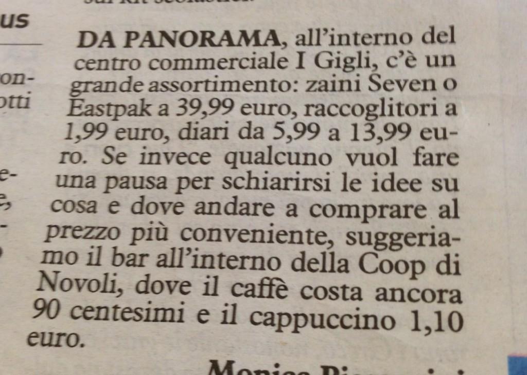 il caffè supereconomico!