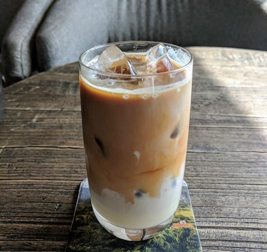 iced spanish latte