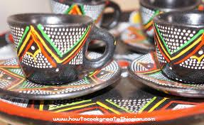 Tazze da caffè etiopi