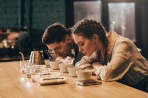 Assaggio del caffè