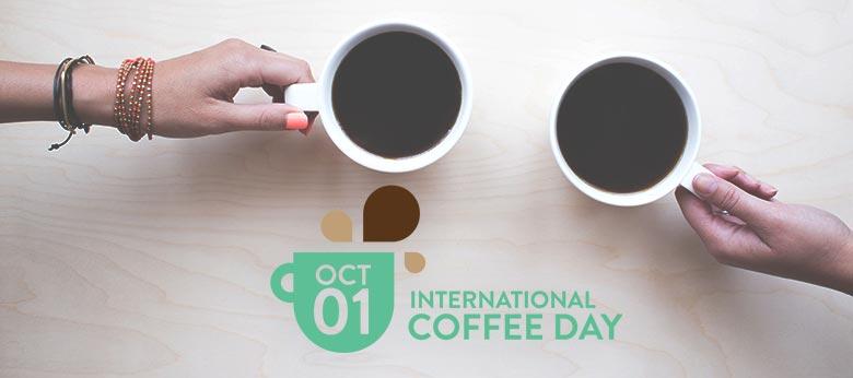 1° OTTOBRE INTERNATIONAL COFFEE DAY, FESTEGGIAMO IL CAFFE'