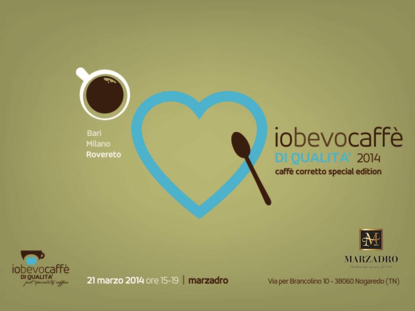 CAFFE' MONORIGINE SPECIALTY E GRAPPE MONOVITIGNO, A ROVERETO UN EVENTO SUL CAFFE' CORRETTO