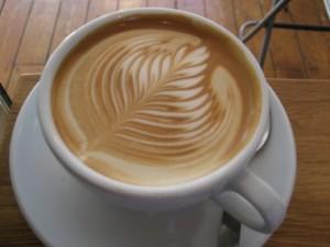 """Un """"flat white"""" in pratica un cappuccino con un doppio espresso"""