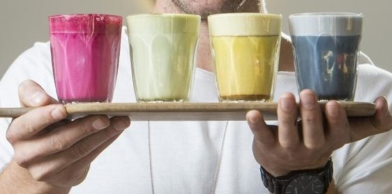 "I 4 CAPPUCCINI NATURALMENTE COLORATI PER AMPLIARE IL VOSTRO ""COFFEE MENU"""