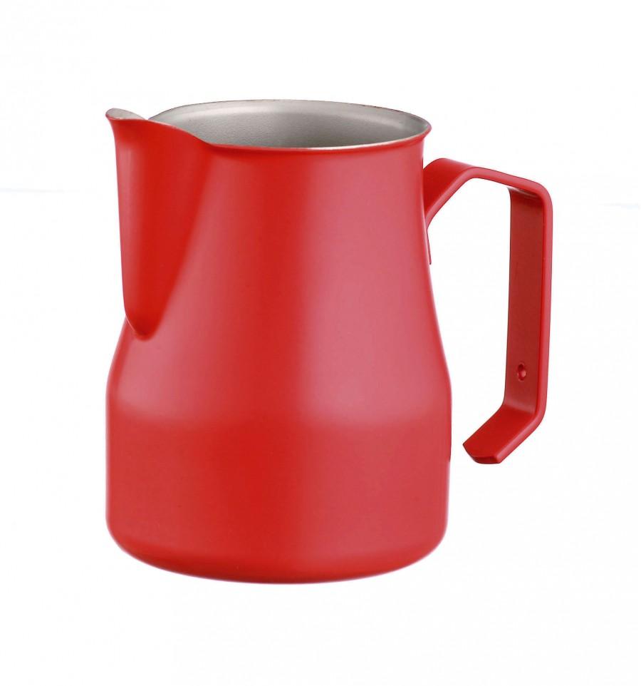 Lattiera per Latte Art Rossa