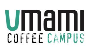 logo rettangolare umami coffee campus