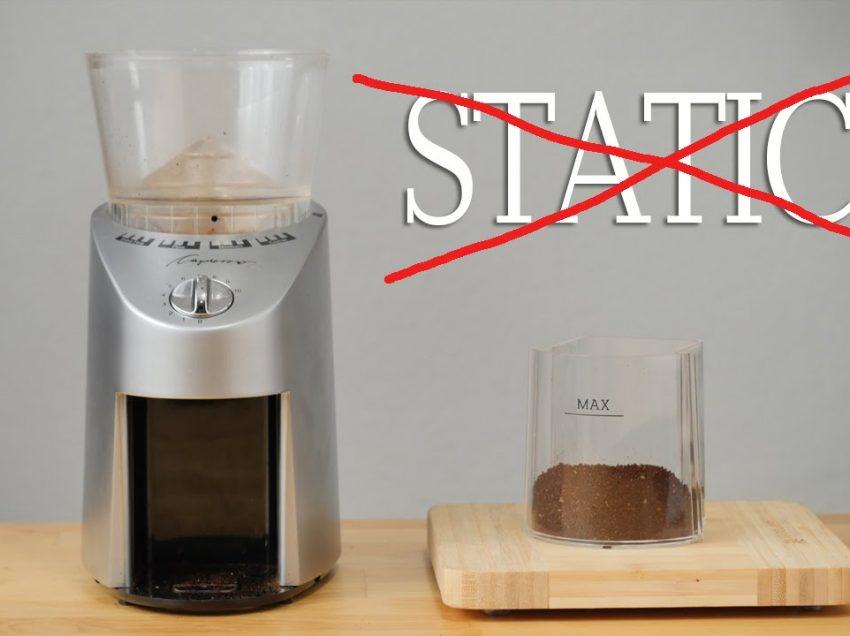 UN TRUCCO PER ELIMINARE L'ELETROSTATICITA' NEL CAFFE' MACINATO