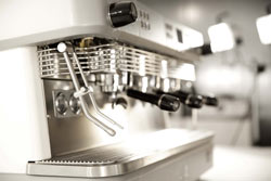 la lancia MCS per montare il latte per cappuccino