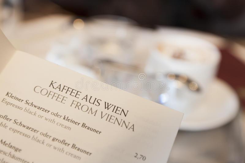 LA NOSTRA GUIDA ALLE BEVANDE DEI CAFE' STORICI DI VIENNA