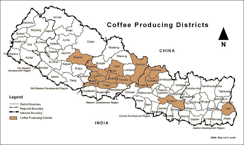 TUTTI I PAESI DEL CAFFE': IL NEPAL