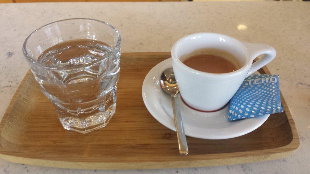 Espresso e acqua...Naturale!!