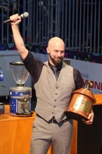 Il vincitore Pete Licata