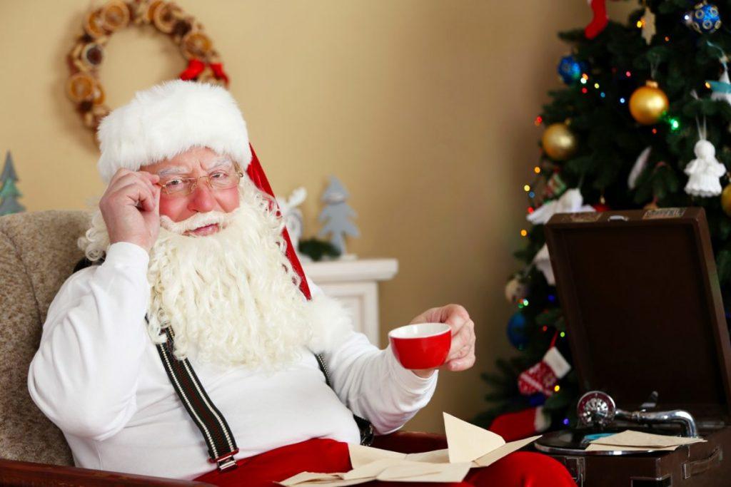 Il caffè di Babbo Natale