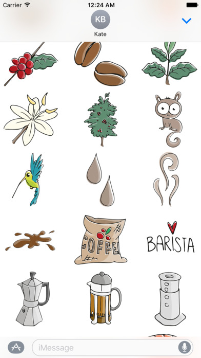 Just Coffee Stickers