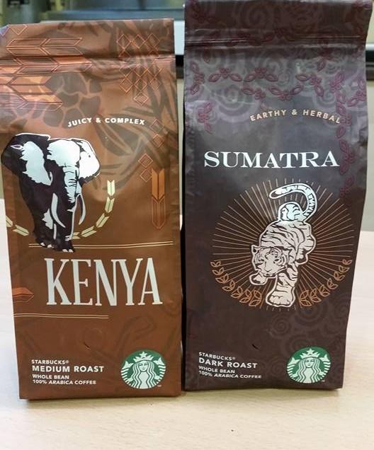 LA NOSTRA RECENSIONE DI DUE CAFFE' DI STARBUCKS, KENIA E SUMATRA