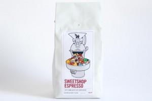 sweetshop, la miscela da caffè espresso di Square Mile