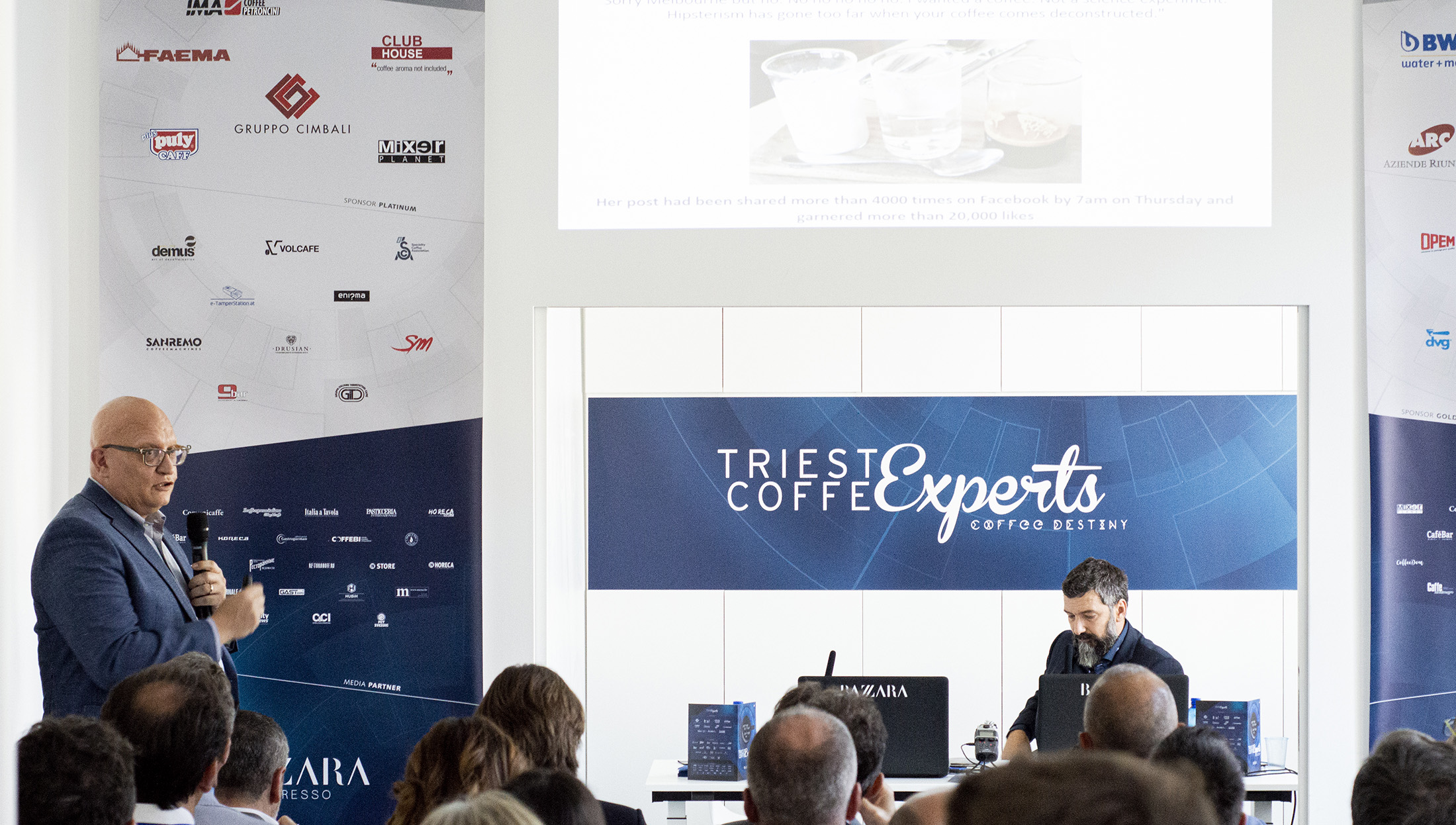 Cosimo Libardo, Trieste Coffee Experts