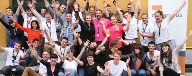 Foto di Supergruppo per i partecipanti al dc campus!