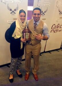 Iranian Barista Champion