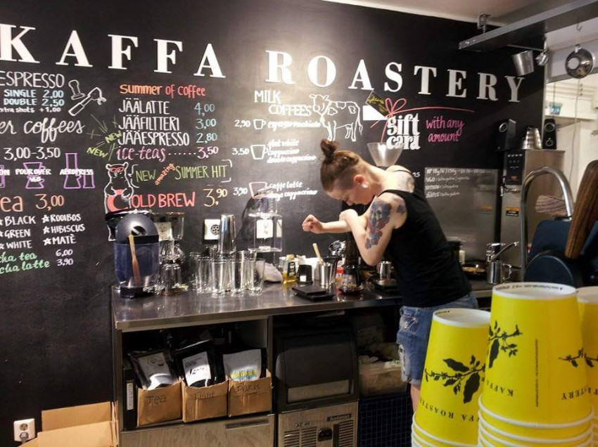 HELSINKI, CRONACA DI UN COFFEE TOUR