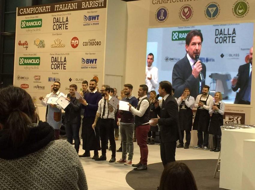 ECCO I 6 FINALISTI DEL CAMPIONATO ITALIANO BARISTI